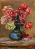 Fine Art - Painting, European:Other , PROPERTY FROM THE LUCIEN ABRAMS COLLECTION. PIERRE-AUGUSTE RENOIR(French, 1841-1919). Le Bouquet, 1910. Oil on canvas...