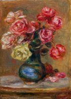 Featured item image of PROPERTY FROM THE LUCIEN ABRAMS COLLECTION    PIERRE-AUGUSTE RENOIR (French, 1841-1919)  Le Bouquet, 1910  Oil on canvas...