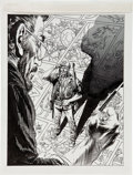 Original Comic Art:Covers, Joe Kubert Joe Kubert The War Years Sgt. Rock Book CoverOriginal Art (DC, 1990)....