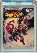 Magazines:Superhero, Spectacular Spider-Man #2 (Marvel, 1968) CGC NM 9.4 Off-white to white pages....