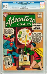 Adventure Comics #253 (DC, 1958) CGC VF+ 8.5 Off-white pages