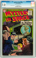 Golden Age (1938-1955):Science Fiction, Mystery in Space #50 (DC, 1959) CGC FN/VF 7.0 Cream to off-whitepages....