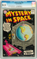 Silver Age (1956-1969):Science Fiction, Mystery in Space #39 (DC, 1957) CGC VF+ 8.5 Cream to off-whitepages....