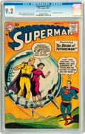 Silver Age (1956-1969):Superhero, Superman #121 (DC, 1958) CGC NM- 9.2 Cream to off-white pages....