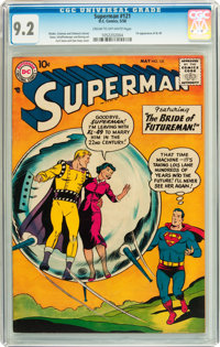 Superman #121 (DC, 1958) CGC NM- 9.2 Cream to off-white pages