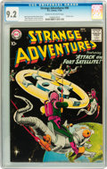 Silver Age (1956-1969):Science Fiction, Strange Adventures #98 (DC, 1958) CGC NM- 9.2 Cream to off-white pages....