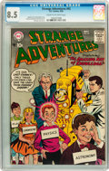 Silver Age (1956-1969):Science Fiction, Strange Adventures #92 (DC, 1958) CGC VF+ 8.5 Cream to off-whitepages....