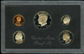 Proof Roosevelt Dimes: , 1983 10C No S PR68 Deep Cameo Uncertified. A complete 1983 proofset, still in the original mint packaging, with black plas...