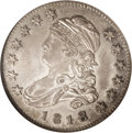 Bust Quarters: , 1818 25C MS62 NGC. B-2, R.1. This variety is spotted by the widedate, stars close to the border, and the lower left star t...