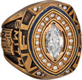 Football Collectibles:Others, 1993 Emmitt Smith NFL Most Valuable Player Prototype Ring. ...