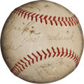 Autographs:Baseballs, 1938 St. Louis Cardinals Team Signed Baseball....