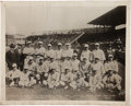 Baseball Collectibles:Others, 1918 Boston Red Sox Huge Photograph from Fenway Park....