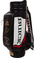 "Golf Collectibles:Autographs, Circa 2001 Tiger Woods Signed Buick ""Tiger Slam"" Bag...."