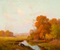 Texas:Early Texas Art - Regionalists, PORFIRIO SALINAS (American, 1910-1973). Texas in the Fall.Oil on canvas. 25 x 30 inches (63.5 x 76.2 cm). Signed lower ...