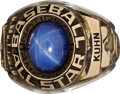 Baseball Collectibles:Others, 1977 Bowie Kuhn All-Star Game Ring....