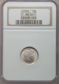 Barber Dimes: , 1898 10C MS65 NGC. NGC Census: (65/28). PCGS Population (65/31).Mintage: 16,320,735. Numismedia Wsl. Price for problem fre...