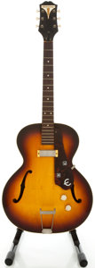 Musical Instruments:Electric Guitars, 1958 Epiphone Century Sunburst Semi-Hollow Body Electric Guitar,Serial #A2788....
