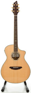 Musical Instruments:Acoustic Guitars, Breelove AC25\SR Plus Natural Acoustic Electric Guitar, . Serial #04058901....