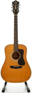 Musical Instruments:Acoustic Guitars, 1975 Guild D-50 Natural Acoustic Guitar, Serial #115397...