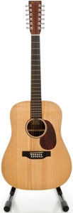 Musical Instruments:Acoustic Guitars, Martin D12X1 Natural 12 String Acoustic Guitar, Serial #1071516....