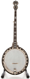 Musical Instruments:Banjos, Mandolins, & Ukes, Morgan Monroe Rocky Top 5 String Banjo, Serial #13676....