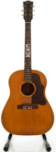 Musical Instruments:Acoustic Guitars, 1957 Gibson J-50 Natural Acoustic Guitar, Serial #U8994 12....