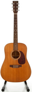 Musical Instruments:Acoustic Guitars, 1993 Martin D-1 Natural Acoustic Electric Guitar, Serial#533574....