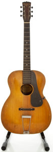 Musical Instruments:Acoustic Guitars, Circa 1920's Washburn 5255 HoneyBurst Acoustic Guitar, Serial#1928....