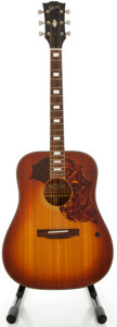 Musical Instruments:Acoustic Guitars, Circa 1974 Gibson SJ Deluxe Cherry Sunburst Acoustic Guitar, Serial#A266238...