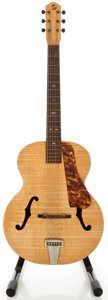 Musical Instruments:Acoustic Guitars, Circa 1950's The Prep S-40 Natural Archtop Acoustic Guitar...