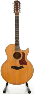 Musical Instruments:Acoustic Guitars, 1980's Taylor 555-C Natural 12 String Acoustic Guitar, Serial#15041....