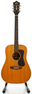Musical Instruments:Acoustic Guitars, 1976 Guild D-50 Natural Acoustic Guitar, Serial #131529....