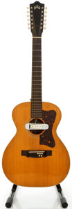 Musical Instruments:Acoustic Guitars, Circa 1964 Guild F-212 Natural 12 String Acoustic Guitar, Serial#29646....