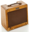 Musical Instruments:Amplifiers, PA, & Effects, Late 1950's Fender Champ Guitar Amplifier, Serial #C 09823....