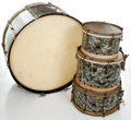 Musical Instruments:Drums & Percussion, 1940's Leedy MOTS Drum Set.... (Total: 4 Items)