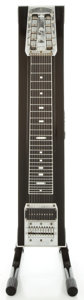 Musical Instruments:Lap Steel Guitars, Fender Black Pedal Steel Guitar, Serial #0790....