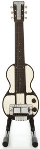 Musical Instruments:Lap Steel Guitars, Circa 1940's Rickenbacher B Model Black Lap Steel Guitar...