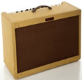 Musical Instruments:Amplifiers, PA, & Effects, Fender Blues Deluxe Tweed Guitar Amplifier, Serial #LOT-093117....