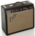Musical Instruments:Amplifiers, PA, & Effects, 1966 Fender Champ Blackface Guitar Amplifier, Serial #A07570....