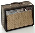 "Musical Instruments:Amplifiers, PA, & Effects, 1960's National 8"" Guitar Amplifier, Serial #I-52900...."