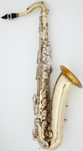 Musical Instruments:Horns & Wind Instruments, Circa 1953 Conn Naked Lady Brass Tenor Saxophone, Serial #350586....