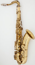 Musical Instruments:Horns & Wind Instruments, Circa 1963 Selmer Mark VI Brass Tenor Saxophone, Serial #105574....