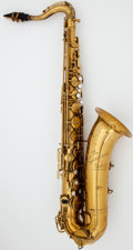 Musical Instruments:Horns & Wind Instruments, Circa 1926 Martin The Indiana Brass Tenor Saxophone, Serial #62545....