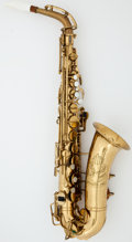Musical Instruments:Horns & Wind Instruments, Elk Hart Brass Alto Saxophone, Serial #40145....