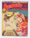 Pulps:Science Fiction, Fantastic Adventures - July 1939 (Ziff-Davis, 1939) Condition:FN....