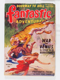 Pulps:Science Fiction, Fantastic Adventures - March 1942 (Ziff-Davis, 1942) Condition:FN-....