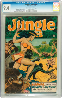 Jungle Comics #92 (Fiction House, 1947) CGC NM 9.4 Cream to off-white pages
