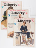 "Magazines:Miscellaneous, Liberty ""Tarzan and the Lion Man"" Group (Liberty Publishing Corp., 1933-34) Condition: Average FN.... (Total: 9 Items)"