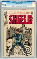 Silver Age (1956-1969):Superhero, Nick Fury, Agent of S.H.I.E.L.D. #4 (Marvel, 1968) CGC NM/MT 9.8 White pages....