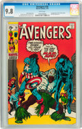 Bronze Age (1970-1979):Superhero, The Avengers #78 (Marvel, 1970) CGC NM/MT 9.8 White pages....